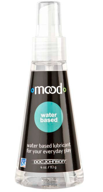 Mood Water-Based Lube 4 Oz