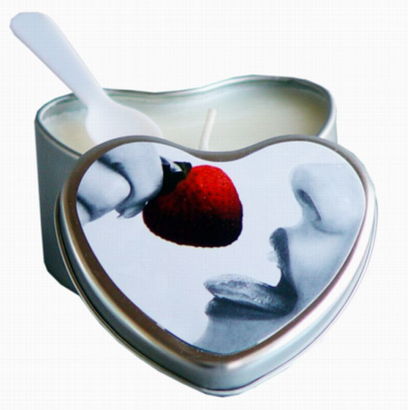 EDIBLE CANDLE STRAWBERRY 4 OZ