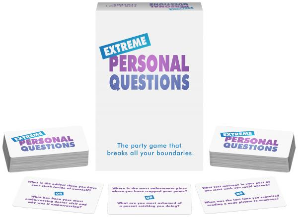 Extreme Personal Questions Party Adult Game
