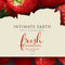 Intimate Earth Flavored Glide Strawberry Foil Pack 3ml