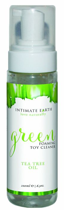 Intimate Earth love naturally Green Foaming Toy Cleaner 6.8 Oz