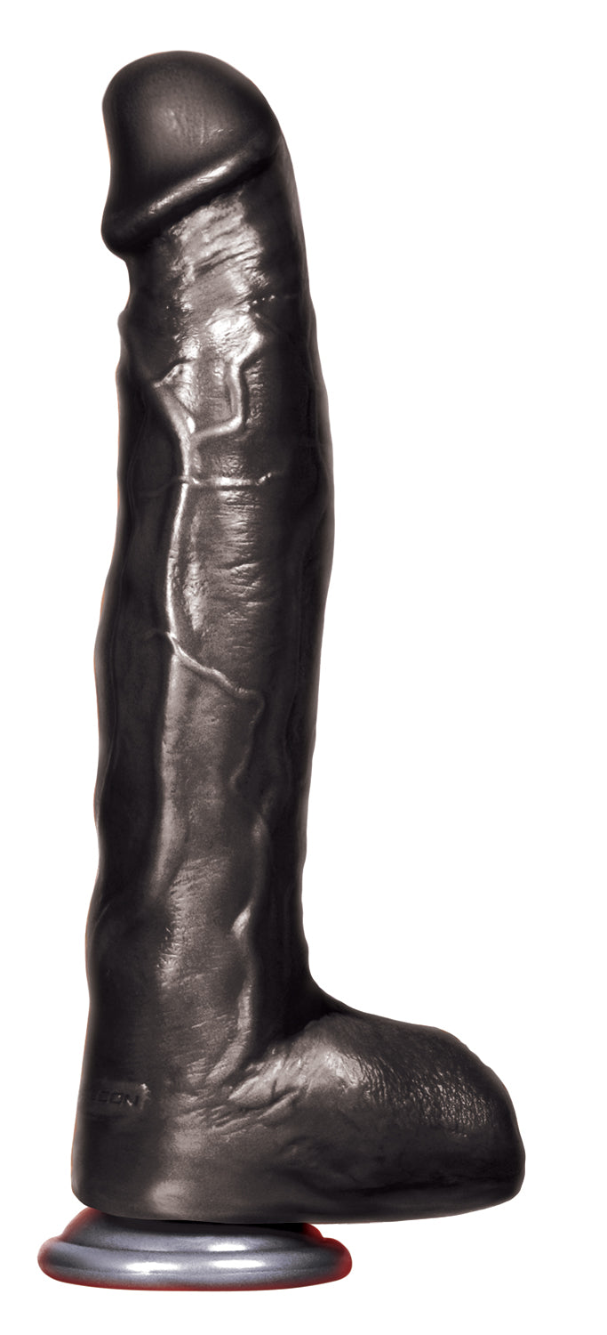 Falcon Big Black Cock Icepick 12 inches Realistic Dildo