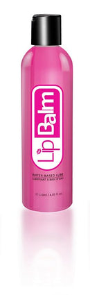 LIP BALM WATER BASED LUBRICANT 4 OZ