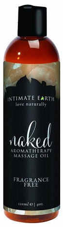 INTIMATE EARTH NAKED MASSAGE OIL 4OZ