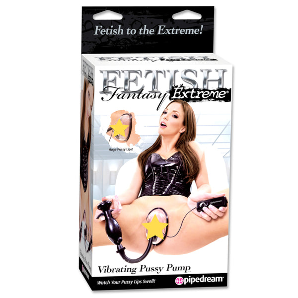 Fetish Fantasy Extreme Vibrating Pussy Pump Clear