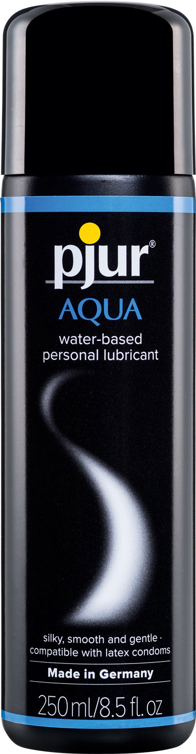 Pjur Aqua Lubricant 250ml e / 8.5 Oz Bottle