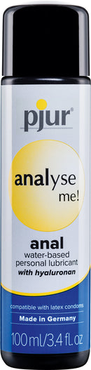 Pjur Analyse Me Anal Water Base Lubricant 100ml