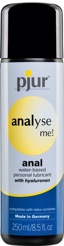 Pjur Analyse Me Anal Water Base Lubricant 250ml e or 8.5 Oz