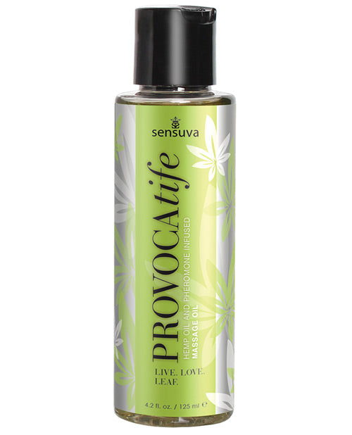 Provocatife Cannabis Oil and Pheromone Infused Massage Oil 4.2 Oz