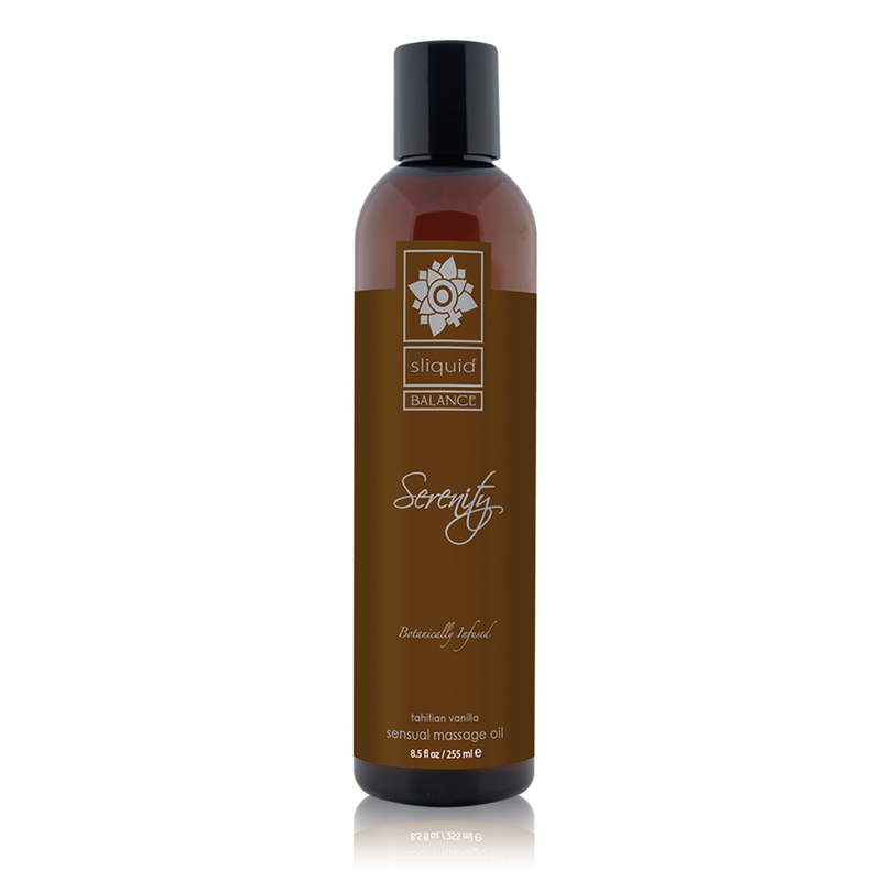 Sliquid Balance Massage Oil Serenity 8.5 Oz