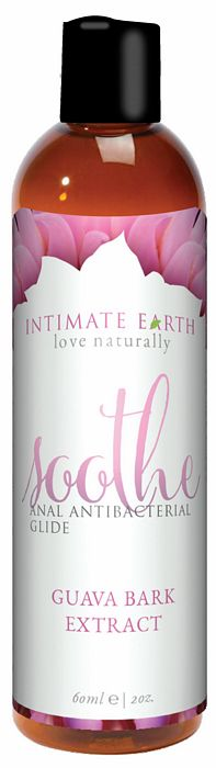Intimate Earth love naturally Soothe Glide Anti-bacterial Anal Lubricant 2 Oz