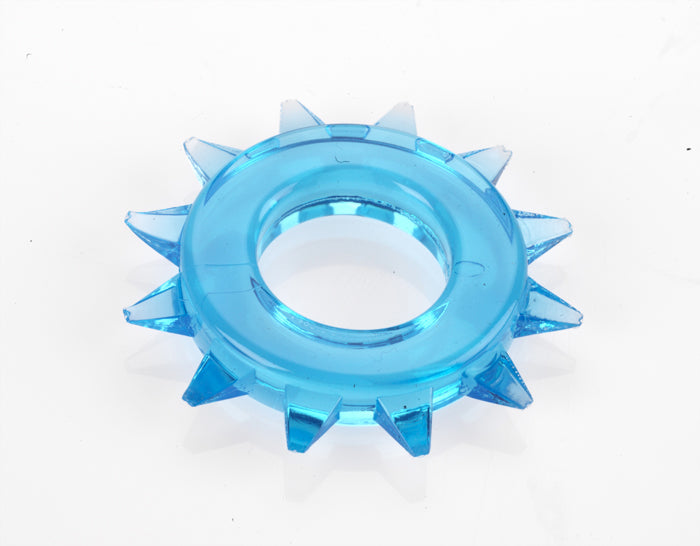 ELASTOMER C RING STUD BLUE