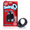 SwingO Black Cock Ring Clear