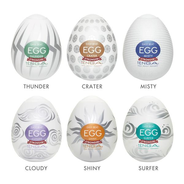 TENGA Hard Boiled Eggs Season 2 Variety Pack 6 Pack