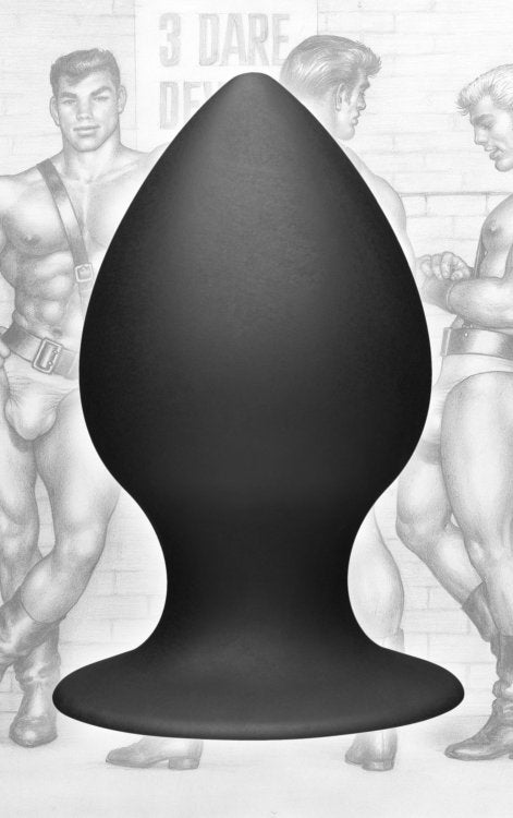Tom Of Finland Anal Plug Extra Large Silicone Black