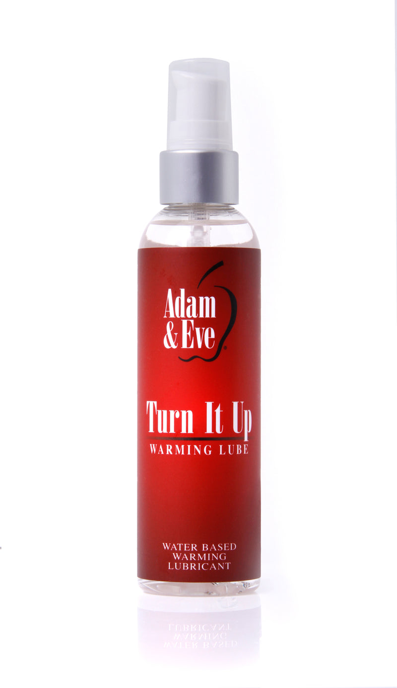 ADAM & EVE TURN IT UP WARMING LUBE 4 OZ