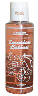 Emotion Lotion Vanilla Flavored Warming Massage Lotion 100ml