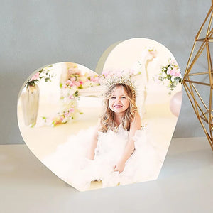 NEW! Heart Photo Block