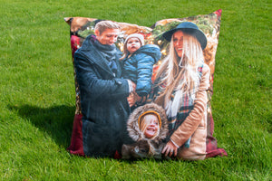 Personalised Photo Floor Cushion