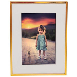 Your Photo Framed - Modern Gold