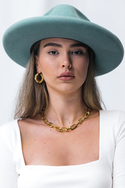 Hailey chunky chain necklace