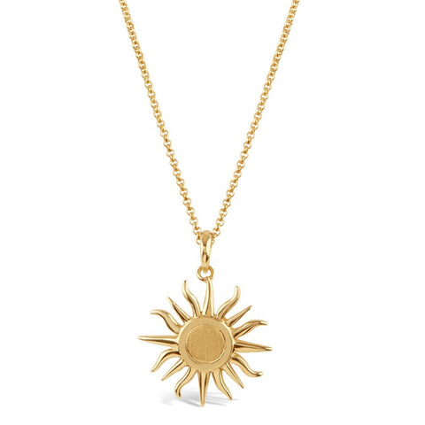 Sun necklace - Lily Lough Jewelry