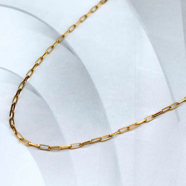 Paper clip necklace - Lily Lough Jewelry