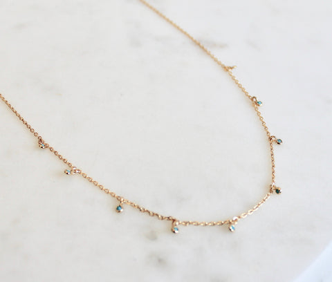 Luca short necklace - Lily Lough Jewelry