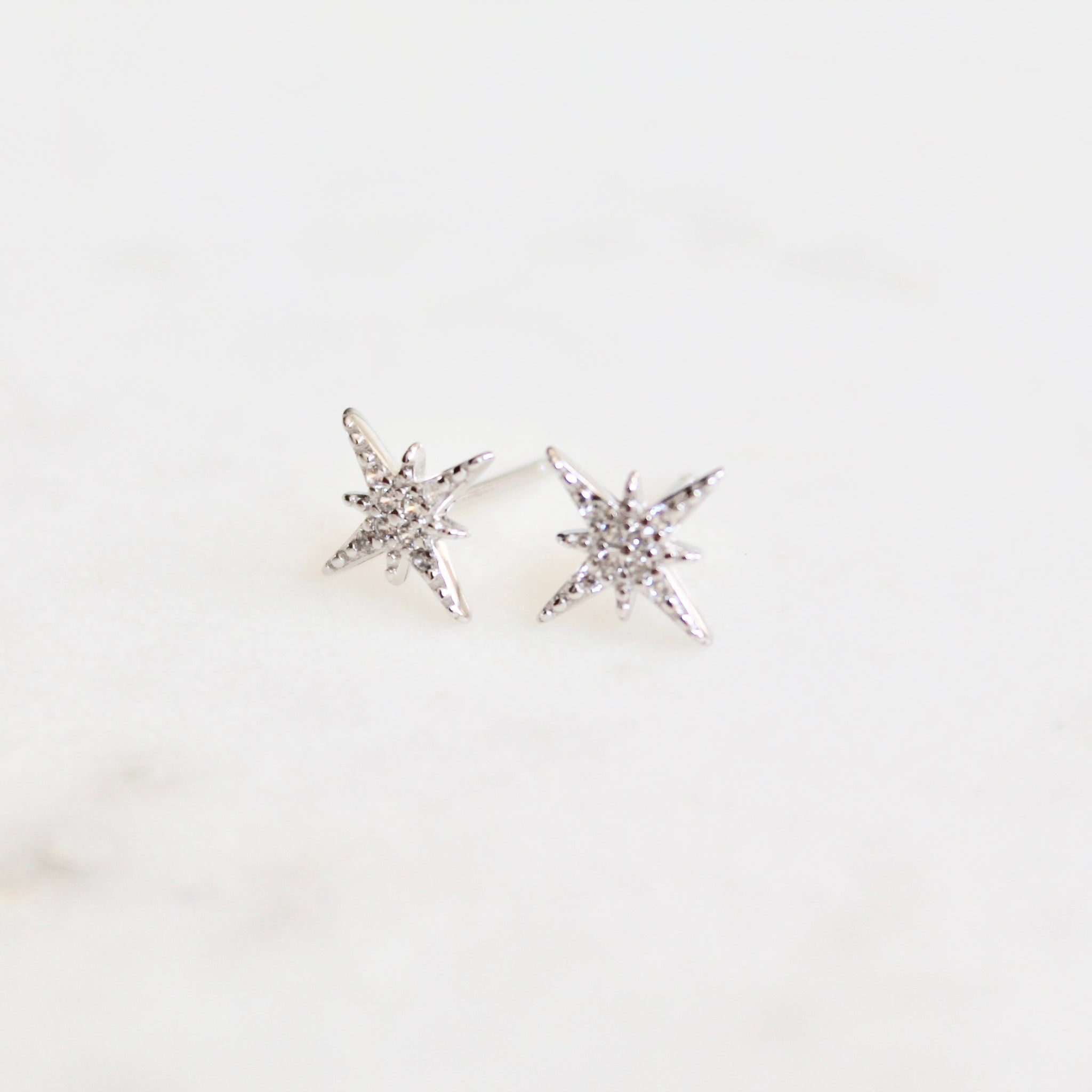 Star stud earrings - Lily Lough Jewelry