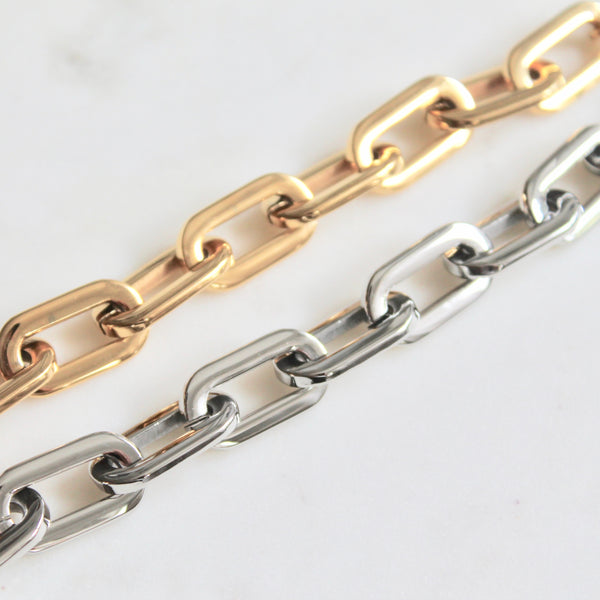 Hailey chunky chain bracelet - Lily Lough Jewelry