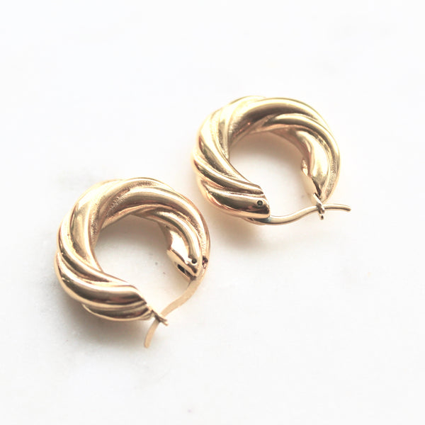 Hoop earrings - Lily Lough Jewelry