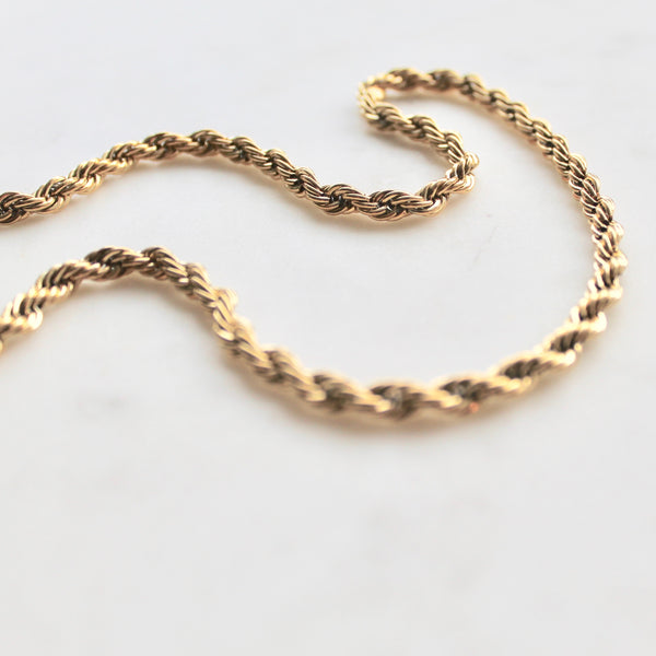 Twisted chain necklace - Lily Lough Jewelry