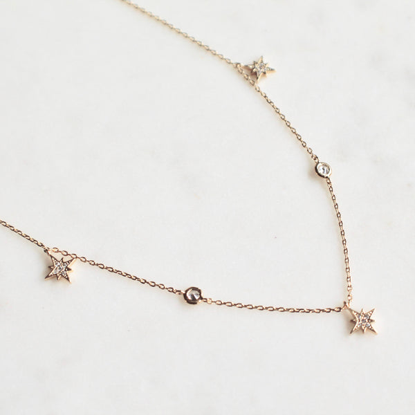 Dainty star choker - Lily Lough Jewelry