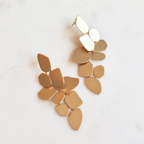Convertible leaf earrings - Lily Lough Jewelry