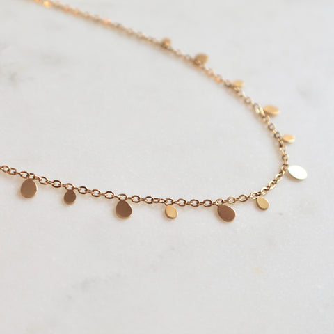 Oval charms necklace - Lily Lough Jewelry