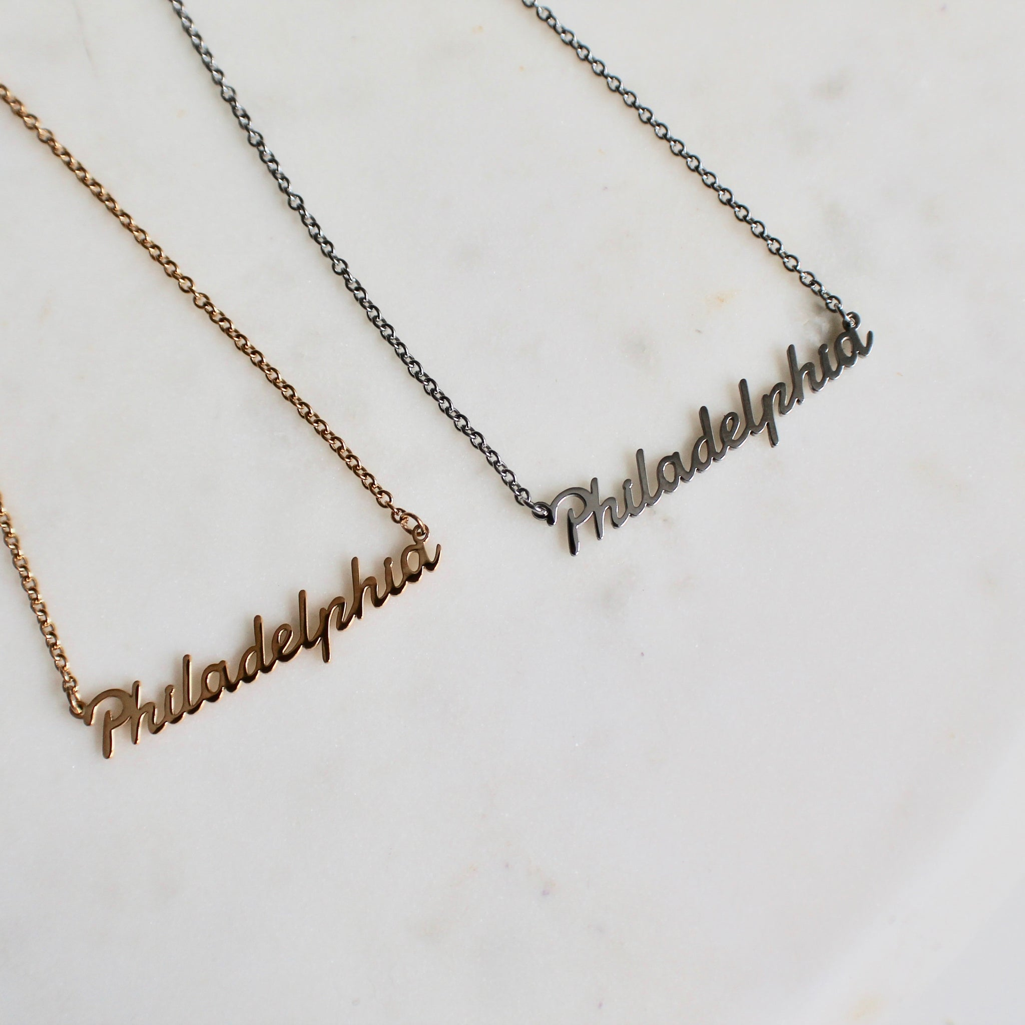 Philadelphia necklace - Lily Lough Jewelry