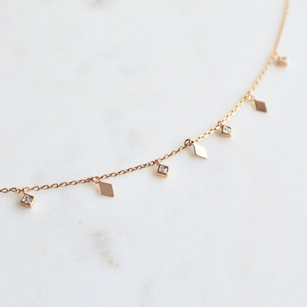 Mini charms necklace - Lily Lough Jewelry