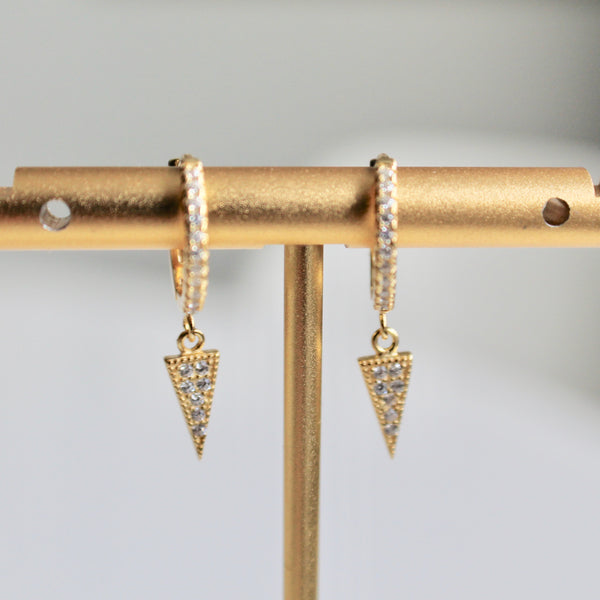 Charm hoop earrings - Lily Lough Jewelry