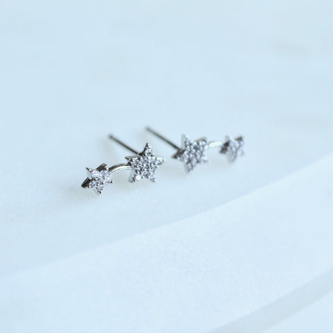 Stars tiny studs - Lily Lough Jewelry