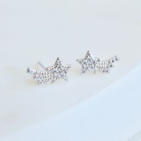 Shooting star studs - Lily Lough Jewelry