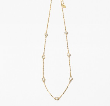 Diamonds by the yard choker necklace - Lily Lough Jewelry