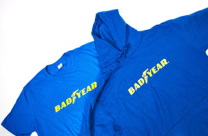 Bad Year Blue Print | Large Logo