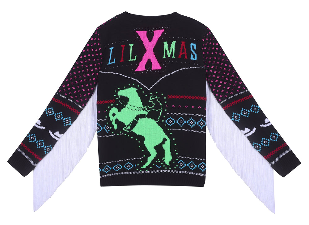 lil nas christmas sweater
