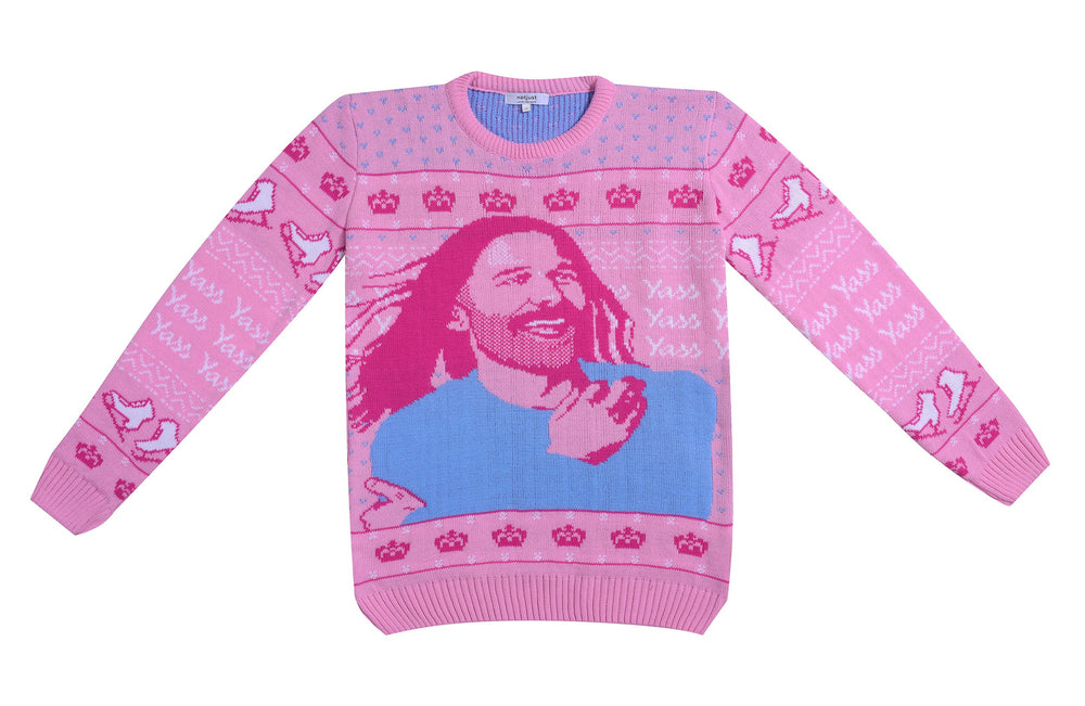 Christmas Kween: JVN Holiday Sweater