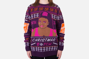 Lizzo - Dat Christmas B*tch: Knitted Christmas Jumper