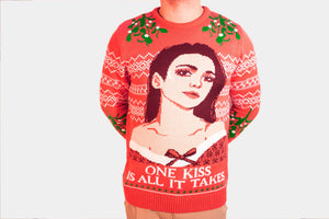 dua lipa christmas sweater