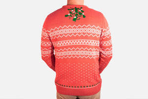 One Kiss is All: Mistletoe Holiday Sweater