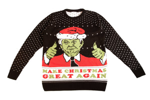 The Grinch: Donald Trump Holiday Sweater