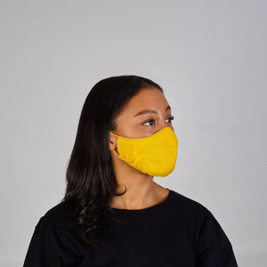 Face Mask: Yellow