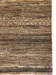 "Gabbeh 4' 6"" x 6' 10"" Wool Handmade Area Rug - Shabahang Royal Carpet"